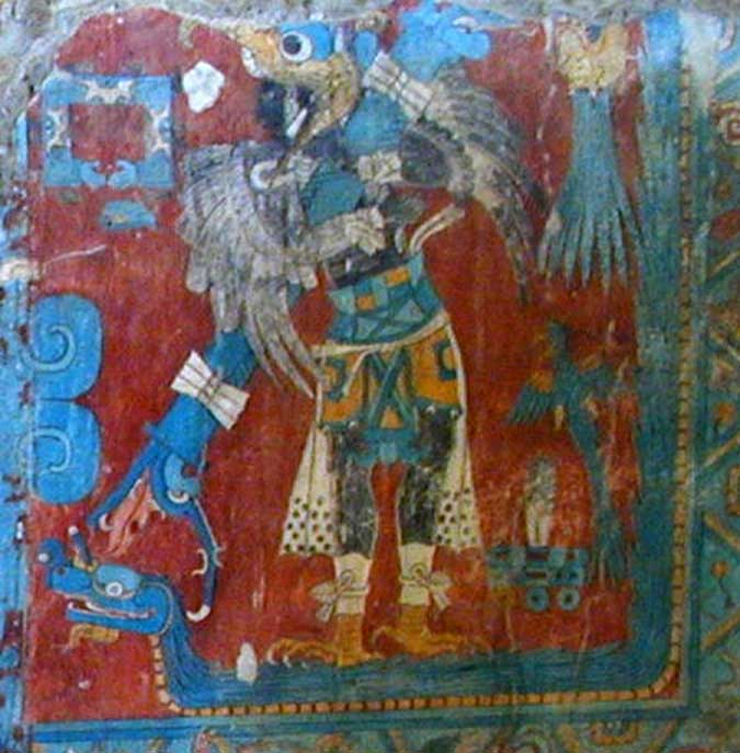 Fresco in Cacaxtla